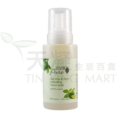 100% Pure 酸橙薄荷滋潤洗手液 325ml<br>Key Lime & Mint Hand Wash