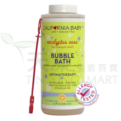 California Baby 泡泡浴-尤加利384ml<br>California Baby Bubble Bath - Eucalyptus Ease