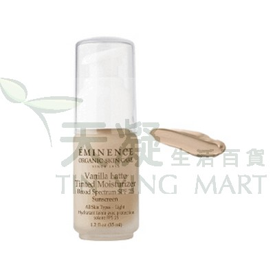 Eminence 香草調色防曬面霜SPF25 - Light<br>Vanilla Latte Tinted Moisturizer
