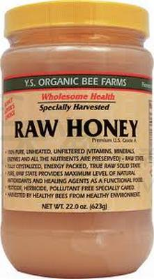 Y.S. 美國頂級有機蜂蜜 623g<br>Y.S. Eco Bee Farms Raw Honey 623g