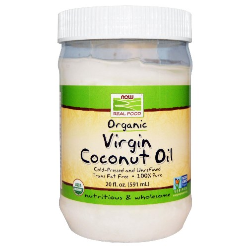 Now Foods 有機冷壓初榨椰子油 591ml<br>Now Foods Organic Virgin Coconut Oil 591ml