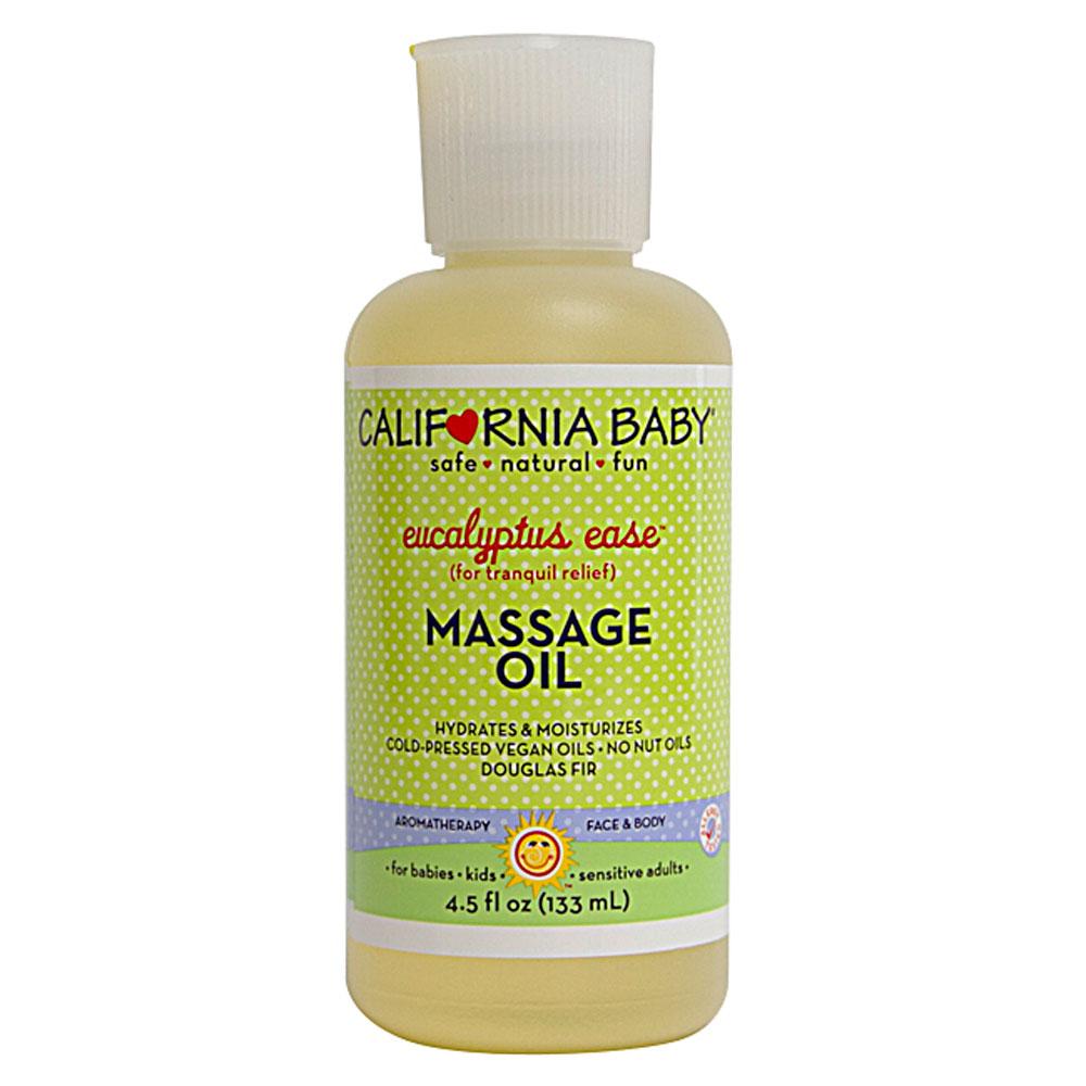 California Baby 有機尤加利舒緩感冒按摩油California Baby Organic Massage Oil Eucalyptus Ease