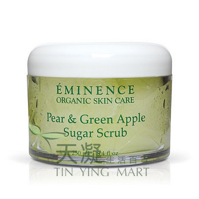Eminence 梨子青蘋果乳糖磨砂250ml Eminence Pear & Green Apple Sugar Scrub250ml