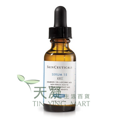 SkinCeuticals 濃縮維他命C精華15 AOX+ 30ml SkinCeuticals Serum 15 AOX+ 30ml