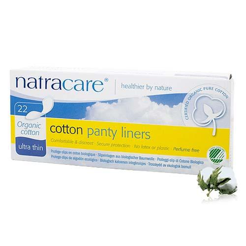 Natracare 全有機棉 護墊 22片