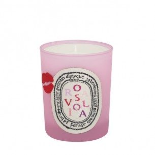 Diptyque Candle Rosavilola 70g Diptyque 香氛蠟燭 Rosaviola 玫瑰之吻 70G