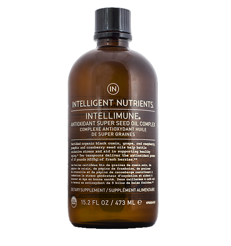 預購Intelligent Nutrients Intellimune Antioxidant Super Seed Oil Complex 有機抗氧化營養補充液 473ml
