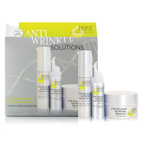 新品優惠:Juice Beauty 有機幹細胞抗皺全方位體驗套裝Stem Cellular™ Anti-Wrinkle Solutions Kit