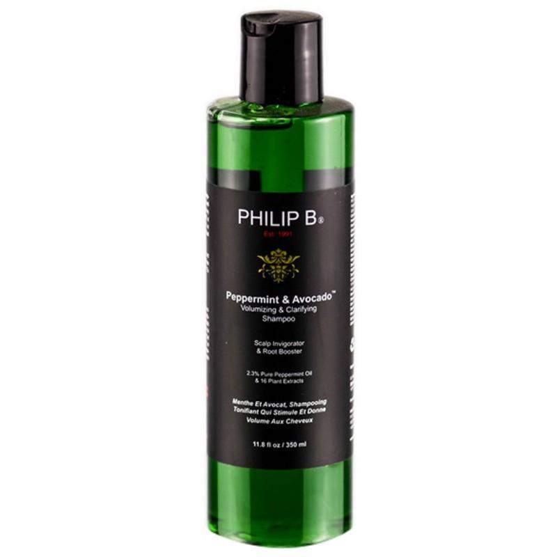Philip B Peppermint And Avocado Volumising And Clarifying Shampoo 350ML Philip B薄荷鱷梨豐盈澄淨洗髮水 350ML