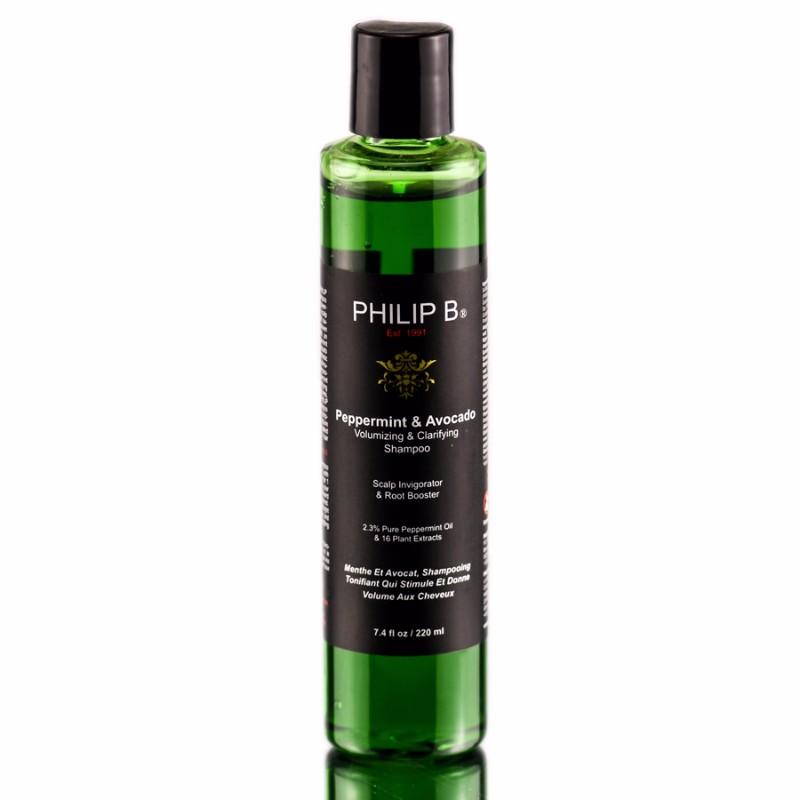 Philip B Peppermint And Avocado Volumising And Clarifying Shampoo 220ML Philip B薄荷鱷梨豐盈澄淨洗髮水 220ML