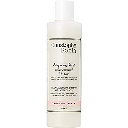 Christophe Robin volumizing shampoo with rose extracts Christophe Robin 玫瑰豐盈護色洗髮乳 250ml