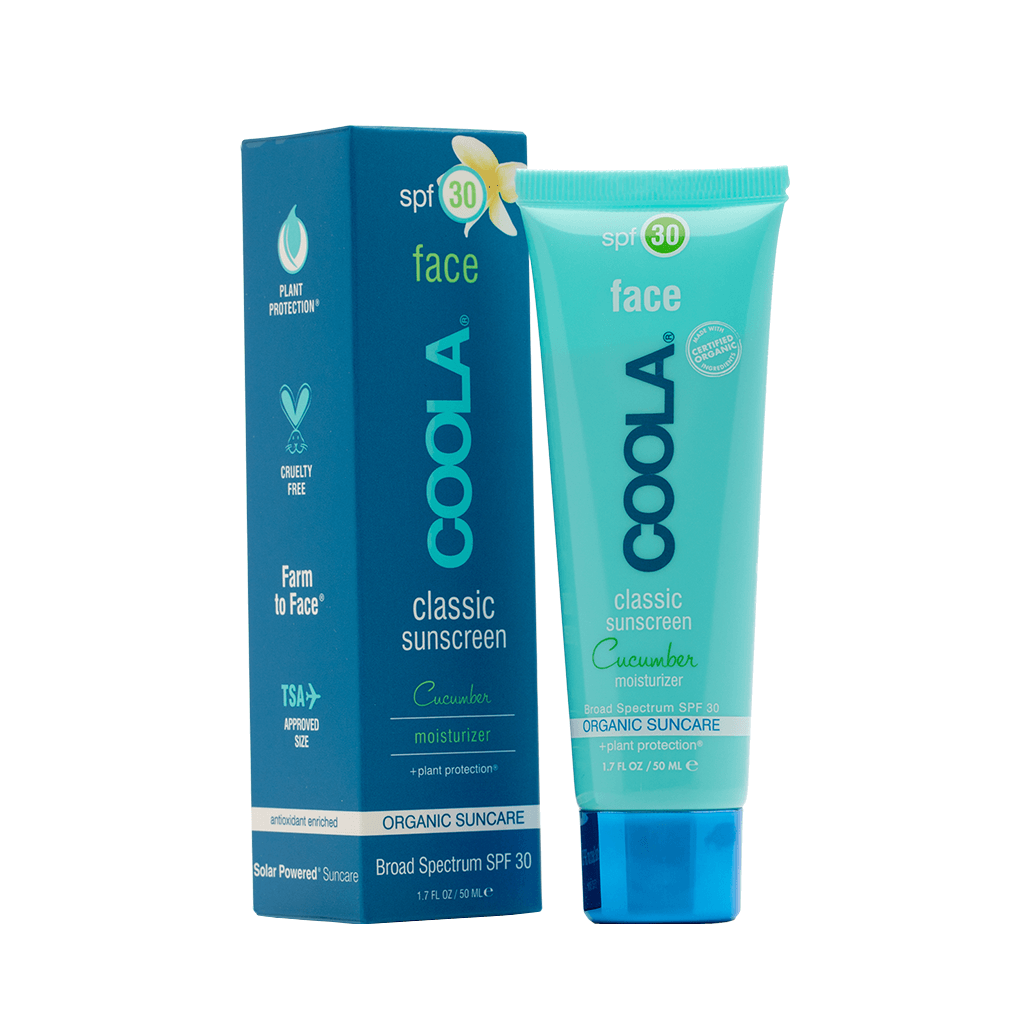 有機青瓜面部防曬霜SPF 30<br>COOLA Classic Face SPF 30 Cucumber  50ml