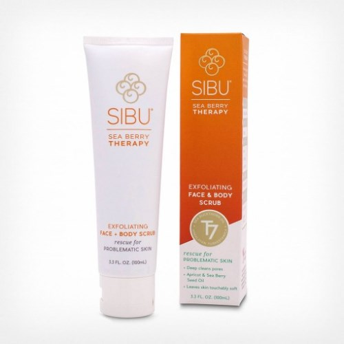 Sibu Beauty 沙棘去角質磨砂霜100g<br>Sibu Beauty Exfoliating Scrub 100g