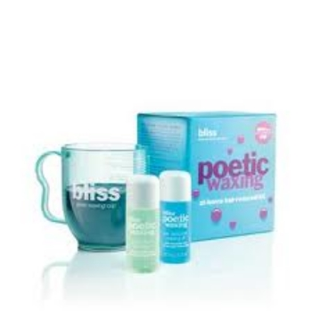 Bliss 特效脫毛蠟套裝<br>Bliss microwavable poetic wax kit