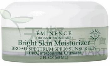Eminence 美白防曬補濕面霜 SPF30 60ml Eminence Bright Skin Moisturizer SPF30 60ml