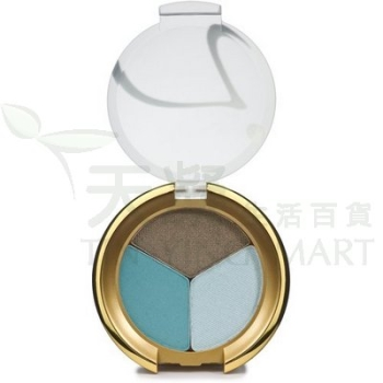 Jane Iredale 三色魅力眼影-Sea Foam 2.8g Jane Iredale Triple Eye Shadows-Sea Foam 2.8g