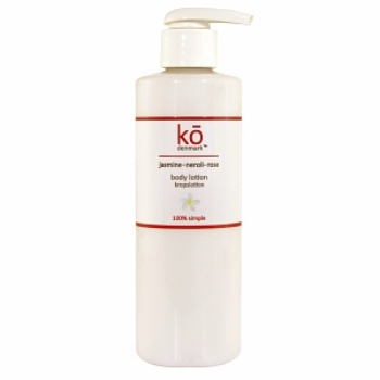 ko denmark 茉莉橙花玫瑰身體乳250ml<br>ko denmark Jasmine Neroli Rose Body Lotion