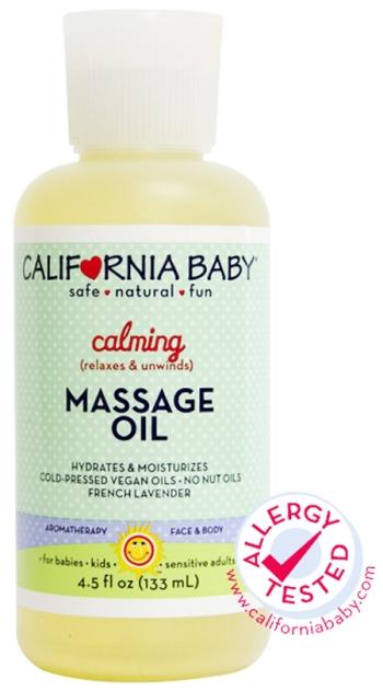 California Baby 加州寶寶有機抗敏按摩油 (超級抗敏感) California Baby Massage Oil Calming (Super Sensitive)