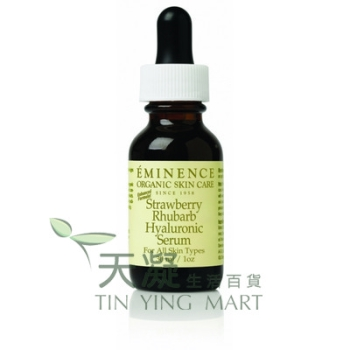 Eminence 草莓大黃透明質酸補濕精華素 30ml Eminence Strawberry Rhubarb Serum 30ml