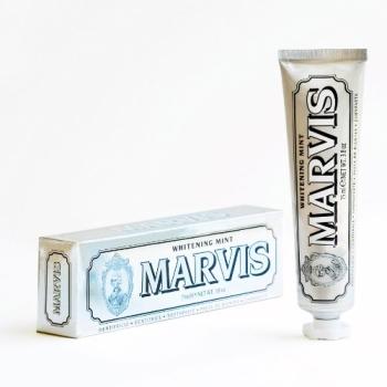 Marvis Whitening 美白薄荷牙膏 美白功效