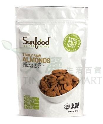 SunFood 有機生機杏仁227g Sunfood Almonds 227g