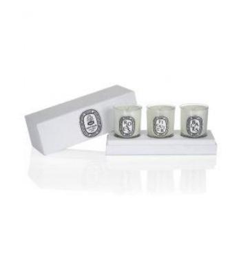 Diptyque ?Mini Candle set - Baies Figuier Roses 70g X3 Diptyque 香薰蠟燭3只套裝 (漿果、無花果、玫瑰) 70gX3